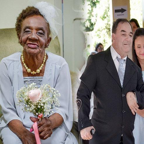 106 साल की उम्र में इस औरत ने की सगाई, दूल्हे की उम्र जानकर उछल पड़ेंगे आप