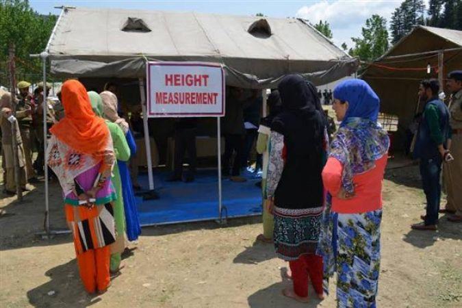 जम्मू-कश्मीर में पुलिस भर्ती को लेकर