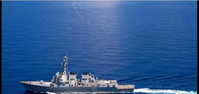 दक्षिण चाइना सी में अमेरिकी जंगी जहाज की गश्त से भड़का चीन, कहा- अपनी भूल सुधारे