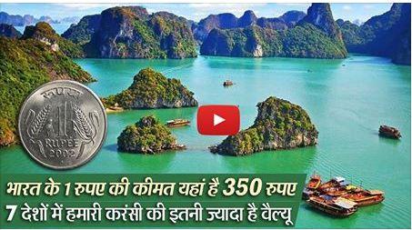 इन देशों में भारत के 1 रुपए की कीमत है 350 रुपए