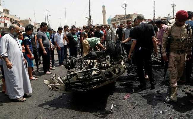 बगदाद: कार में बम धमाके से 13 लोगो की मौत, 24 घायल, ISIS ने ली इस हमले की जिम्मेदारी