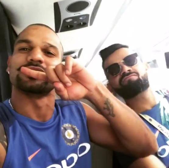 इंग्लैंड में मस्ती के मूड में टीम इंडिया, पाक से है पहला मुकाबला