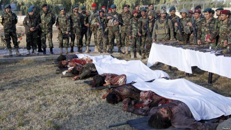 सेना के शिविर पर हुआ तालबानी का हमला, 15 अफगान सैनिकों की मौत