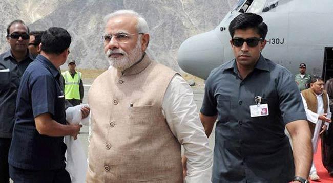 पीएम मोदी ने अपने एसपीजी कमांडो की लगाई फटकार कहा