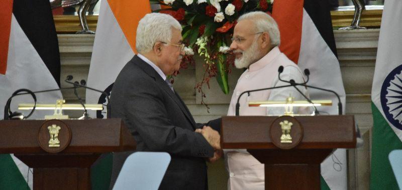 फिलिस्तीन और भारत में हुए महत्वपूर्ण करार