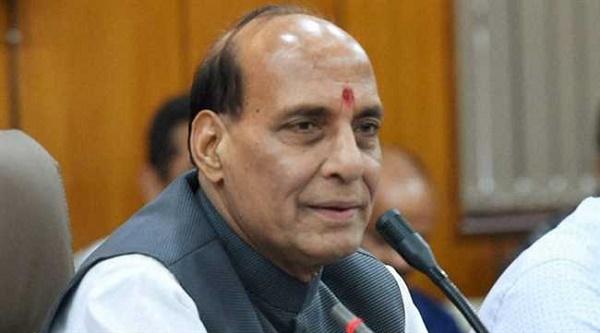 केंद्रीय गृह मंत्री राजनाथ सिंह ने मुख्यमंत्रियों के साथ की बैठक
