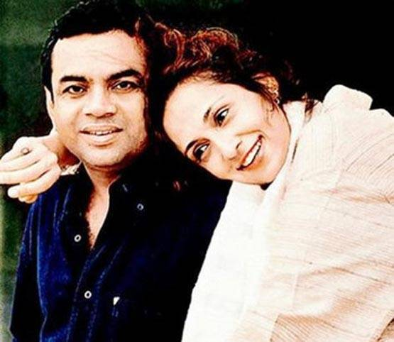 ब्यूटी क्वीन रह चुकी हैं परेश रावल की पत्नी, पेड़ के नीचे की थी शादी