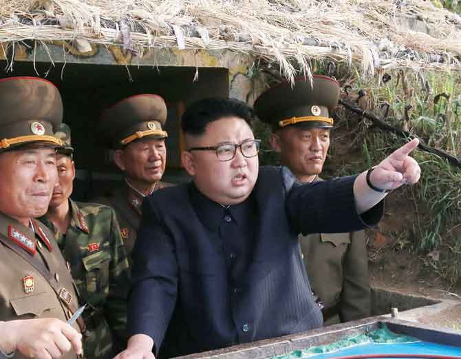 US की चेतावनी के बावजूद नॉर्थ कोरिया ने फिर