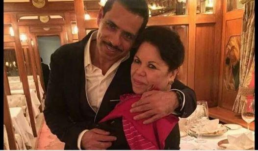 बीजेपी सरकार ने वापस ली रॉबर्ट वाड्रा की मां की VVIP