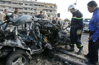 Bombing in suicide car bomb in Iraq