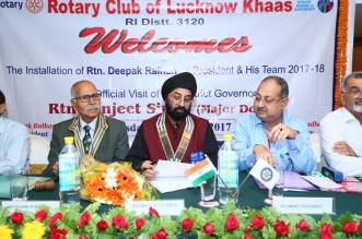 "Installation of Rotary Club ""Lucknow Khaas"""