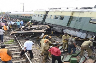 Big rail incident again in Uttar Pradesh