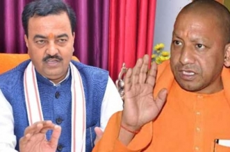 Seal stamped on the resignation of CM Yogi and deputy CM