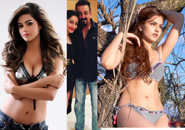 hot sexy heroins with sanjay dutt