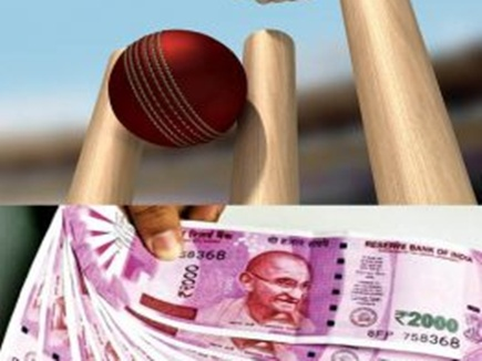 इंदौर में आईपीएल मैच का सट्टा लगाने वाले गिरोह के 4 सदस्य गिरफ्तार