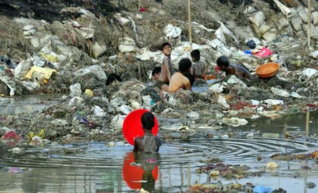 इलाहाबाद के प्रदूषित जलापूर्ति ने शहरियों की बढ़ा दी है परेशानी