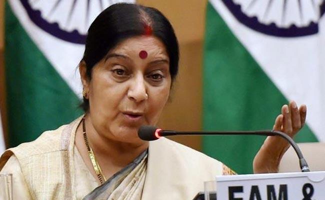भारत सिर्फ संयुक्त राष्ट्र के प्रतिबंधों को मानता है: ईरान पर बोलीं सुषमा
