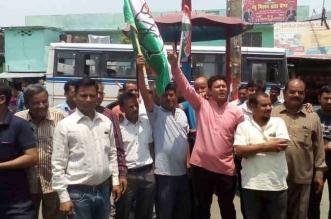 उत्तराखंड में भाजपा की कर्नाटक पर कांग्रेसियों ने मनाया जश्न