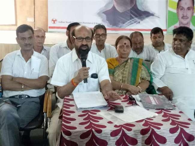 उत्तराखंड में भी भाजपा के चार साल पुरे होने पर कांग्रेस ने मनाया विश्वासघात दिवस