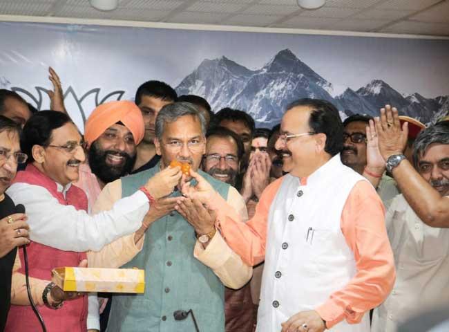 उत्तराखण्ड के सीएम ने कहा- कर्नाटक जीत ने दिए संकेत कि 2019 में जनता क्या चाहती है
