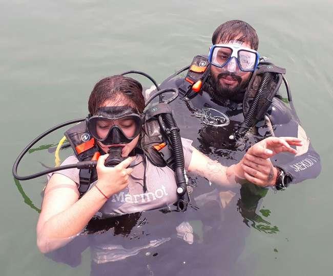 उत्तराखण्ड टिहरी झील में बना इतिहास, हुई स्कूबा डाइविंग शुरू