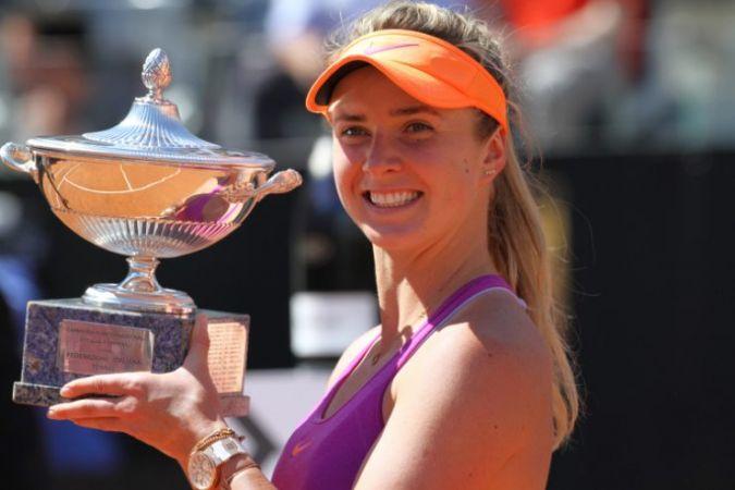 एलीना स्वितोलीना ने जीता इटैलियन ओपन