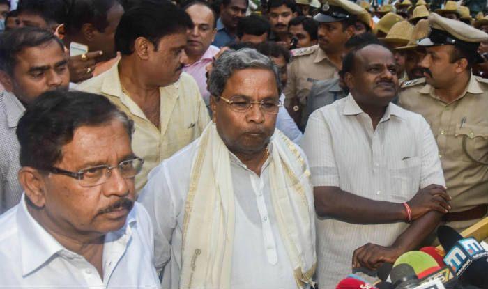 कर्नाटक में सरकार का फॉर्मूला: गृह कांग्रेस और वित्त जद(एस) को मिला, बाकी विभागों पर फैसला आज