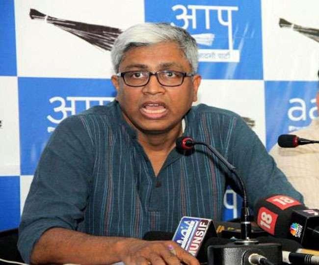 गांधी-नेहरू पर अभद्र टिप्पणी में AAP नेता आशुतोष पर FIR, बोले- छीनी जा रही बोलने की आजादी