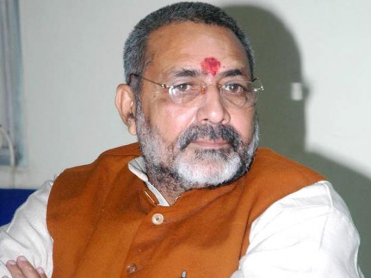 गिरिराज ने जिन्ना को बताया देश का विलेन, कहा- विवाद को कांग्रेस दे रही हवा
