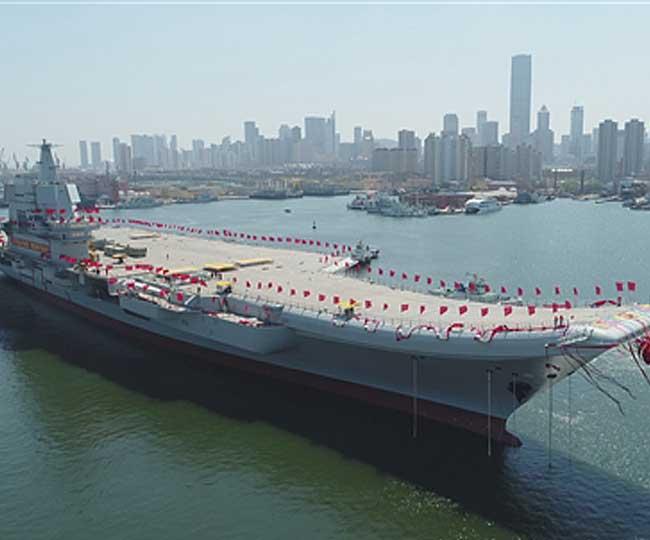 चीन का यह पहला स्वदेशी विमानवाहक युद्धपोत समुद्र में उतरा, हैं ये खासियत