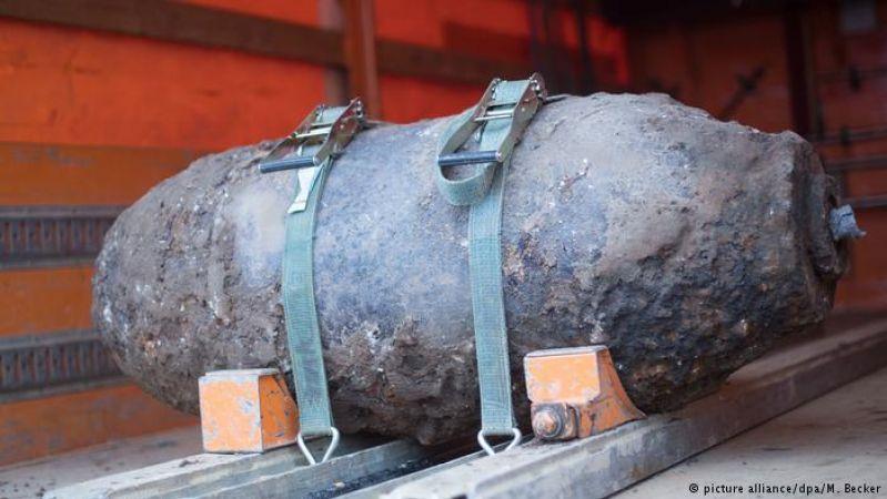 जर्मनी में दशकों पुराना 500 किलो का बम हुआ बरामद