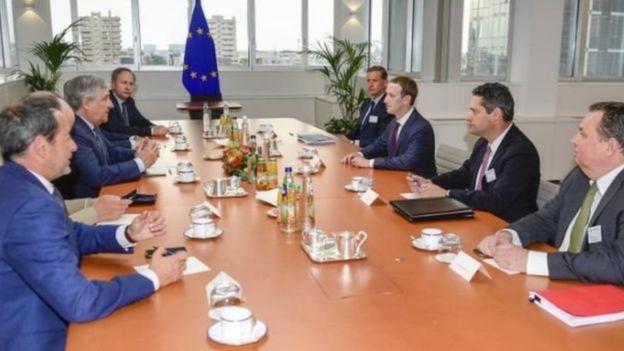 ज़करबर्ग ने यूरोपीय संसद से मांगी माफ़ी