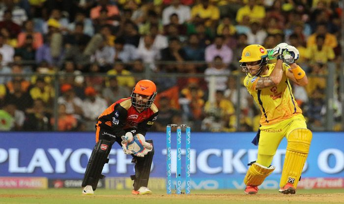 डुप्लेसी का सिक्सर और मैदान पर दौड़ पड़े चेन्नई के खिलाड़ी, साक्षी भी लगी चिल्लाने: विडियो