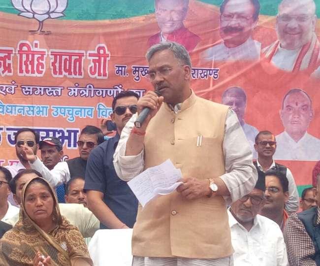 त्रिवेंन्द्र सिंह रावत ने कहा- गांवों का विकास मेरी प्राथमिकता