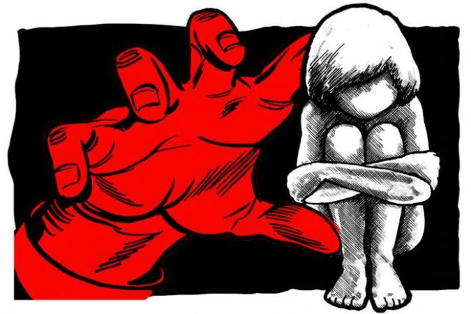 नाबालिग से किया बलात्कार