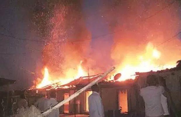 पंचायत चुनाव से पहले दो CPM कार्यकर्ताओं के घर में लगी आग, 2 की मौत, TMC पर आरोप