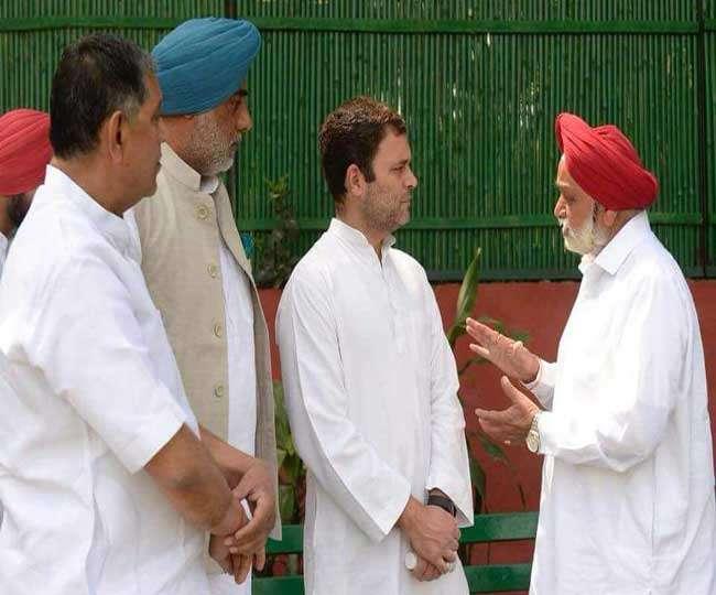 पंजाब के नाराज कांग्रेस विधायक पहुँचे राहुल गांधी के पास, सुनाया दर्द