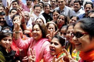 पंजाब में भी कर्नाटक में मिली जीत का मनाया गया जश्न, मोदी के विकास एजेंडे को दिया श्रेय