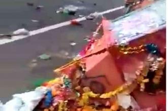 पूर्णागिरी मंदिर के दर्शन को जा रहे श्रद्धालुओं को ट्रक ने कुचला, 10 की मौत