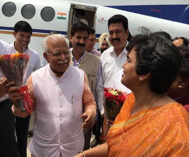 मनोहरलाल ने कहा- राहुल गांधी के रहते कांग्रेस का नहीं हो सकता भला