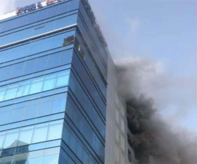 मुंबई के गोरेगांव की बहुमंजिला इमारत में लगी आग, तीन की मौत