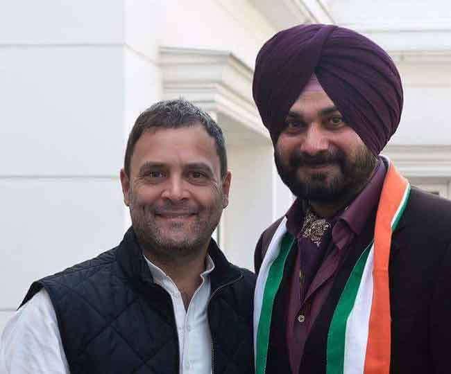 मेरा सारा जीवन कांग्रेस को समर्पित: राहुल से मिले सिद्धू