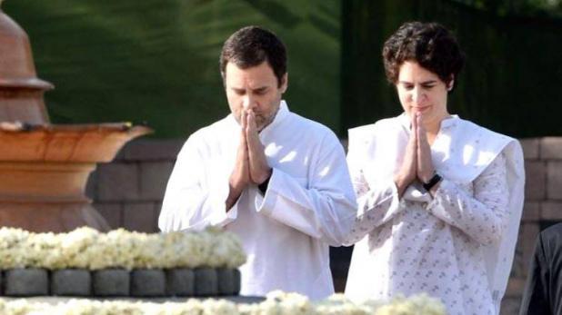 राजीव गांधी की पुण्यतिथि आज, सोनिया-राहुल ने दी श्रद्धांजलि