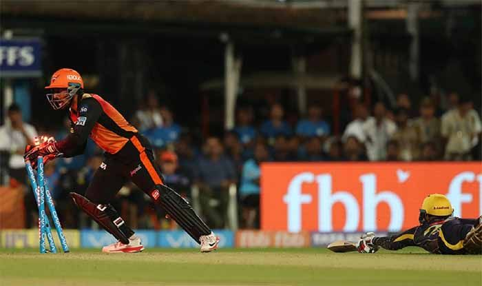 राशिद-साहा के इस रन आउट ने कोलकाता से छीनी जीत: विडियो