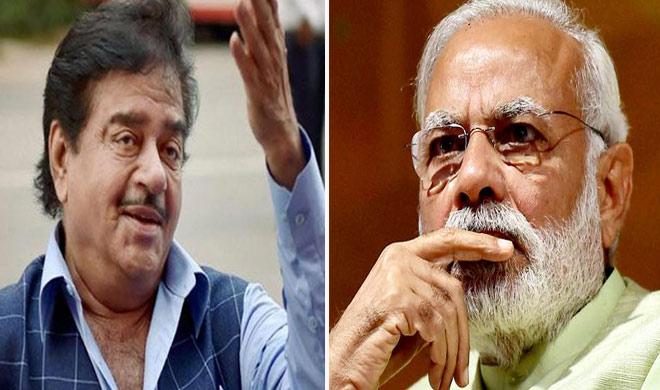 शत्रुघ्न सिन्हा ने PM मोदी के लिए दिया ये बड़ा विवादित ब्यान, कहा...