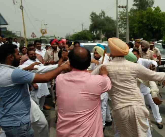 हमले में बाल-बाल बचे नेता प्रतिपक्ष खैहरा, हमलावरों ने बचाने आए पुलिसकर्मी को भी पीटा