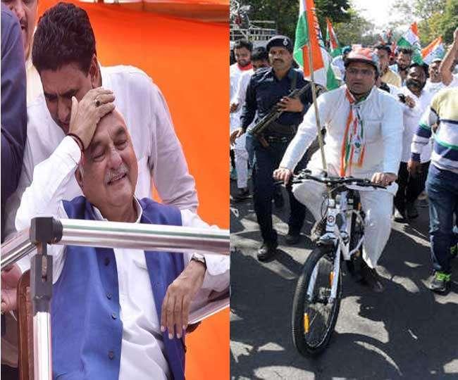 हुड्डा के रथयात्रा के साथ-साथ चलेगी अशोक तंवर की साइकिल