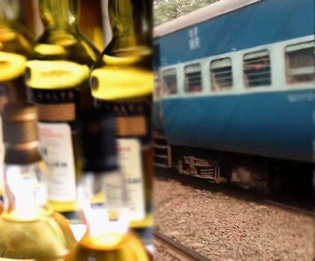 ट्रेन से हो रही शराब तस्करी, ड्राइवर-गार्ड समेत तीन गिरफ्तार