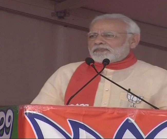 PM ने कहा- कांग्रेस का नया मंत्र है झूठ बोलो, जितना बोल सको