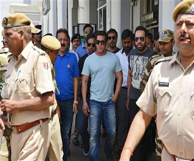 सजा के खिलाफ अपील पर सुनवाई के लिए जोधपुर पहुंचे सलमान